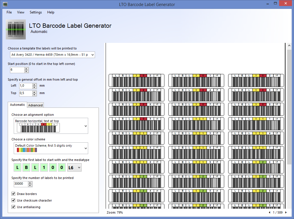 Lto Barcode Label Generator 1 2 0 Released Norman Bauer