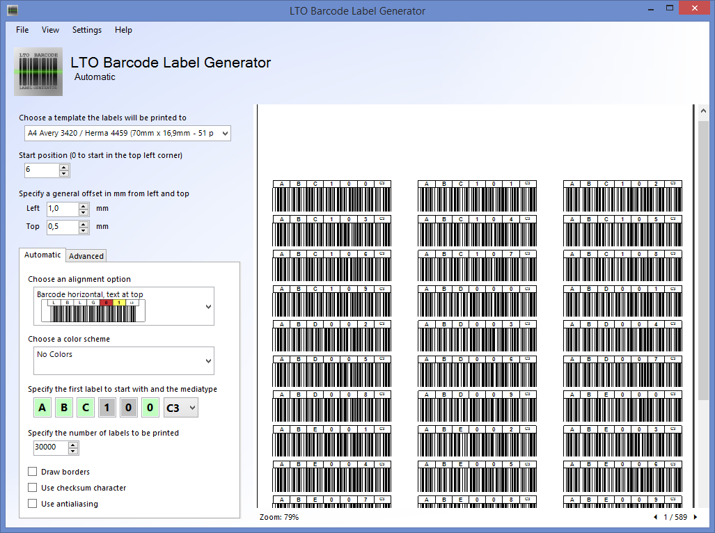 lto barcode label generator 1 2 0 released