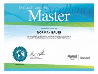 MCM Certificate