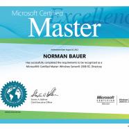 Got my MCM certificate
