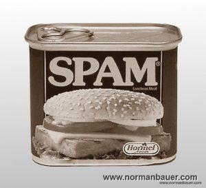 Comment spam at normanbauer.com