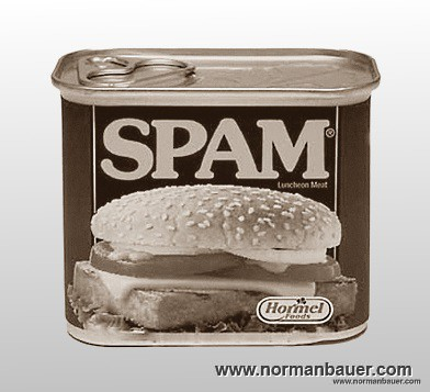 Comment spam at normanbauer.com