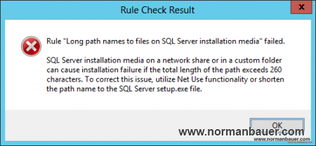 SQL Server Setup Support Rules Failed 2