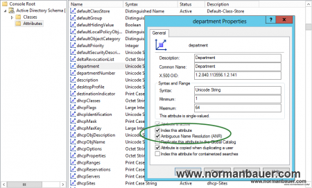 Add attributes to Ambigous Name Resolution ANR