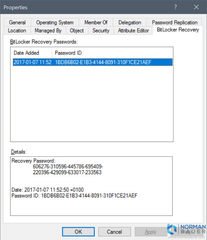how to unlock bitlocker drive using recovery key