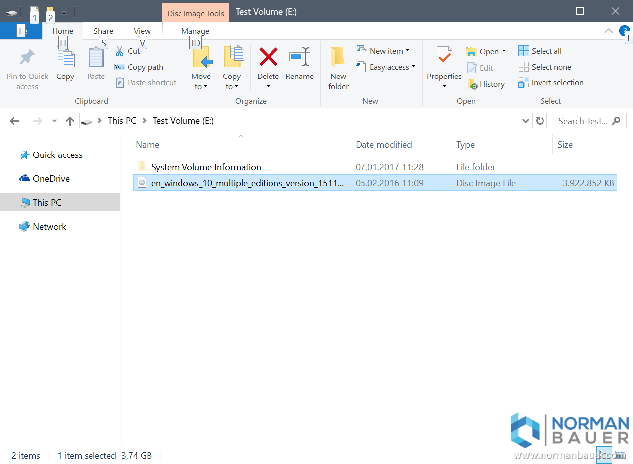How to recover data from a deleted, BitLocker enabled
